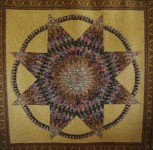 Thistle Star by Janey Argyle, Quilted by Charlotte Purcell Gary