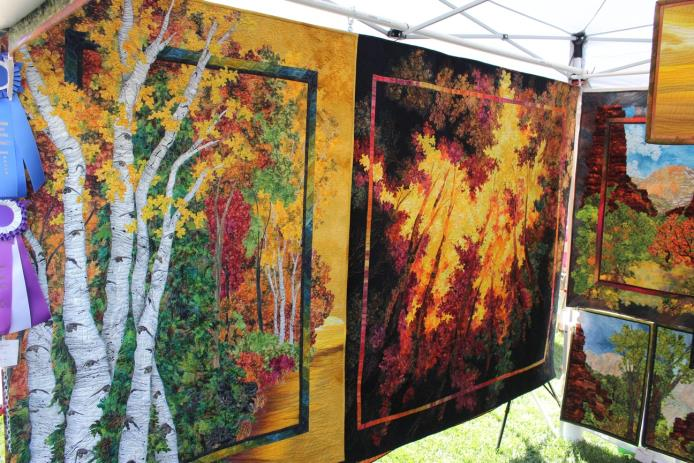 Sue's Quilts on Display