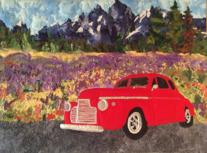 """Cruizin"" Series: Grand Tetons National Park Wyoming By Cathie Purdy"