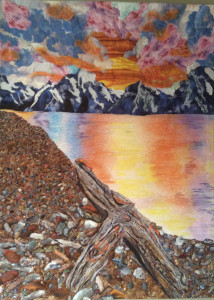 """Storm Clearing"" Series: Grand Tetons National Park Wyoming By Cathie Purdy"