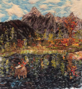 """Mischief Moose-y In The Tetons Series: Grand Tetons National Park Wyoming By Cathie Purdy"