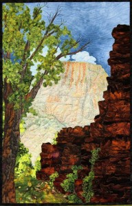 """Zionscape 1"" Zion National Park Utah By Sue McBride Gilgen"