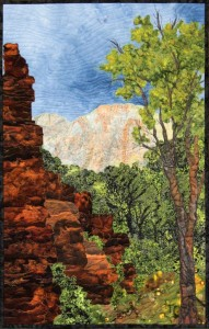 """Zionscape 2"" Zion National Park Utah By Sue McBride Gilgen"