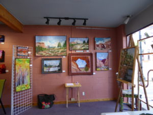 Charlotte Purcell Gary Exhibit Gallery Moab